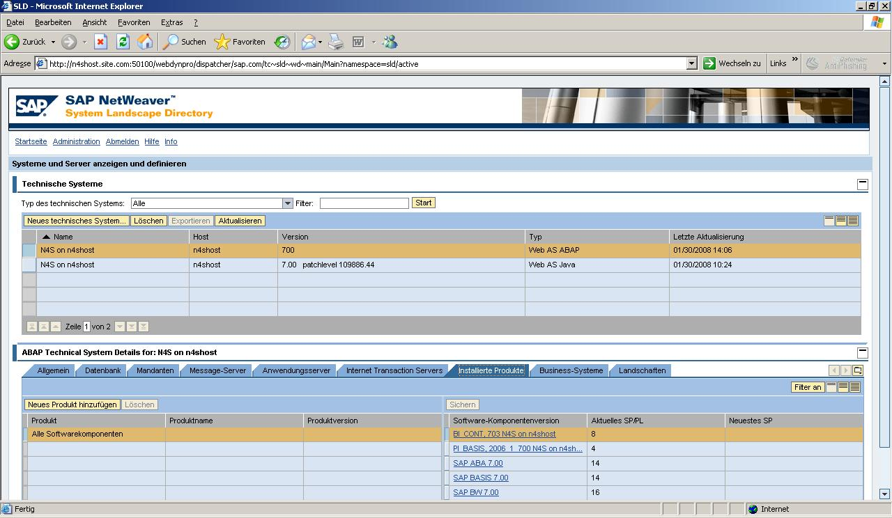 SLES10SP1_x64_Athlon_X2_5600_SLD_ABAP_STACK_Software